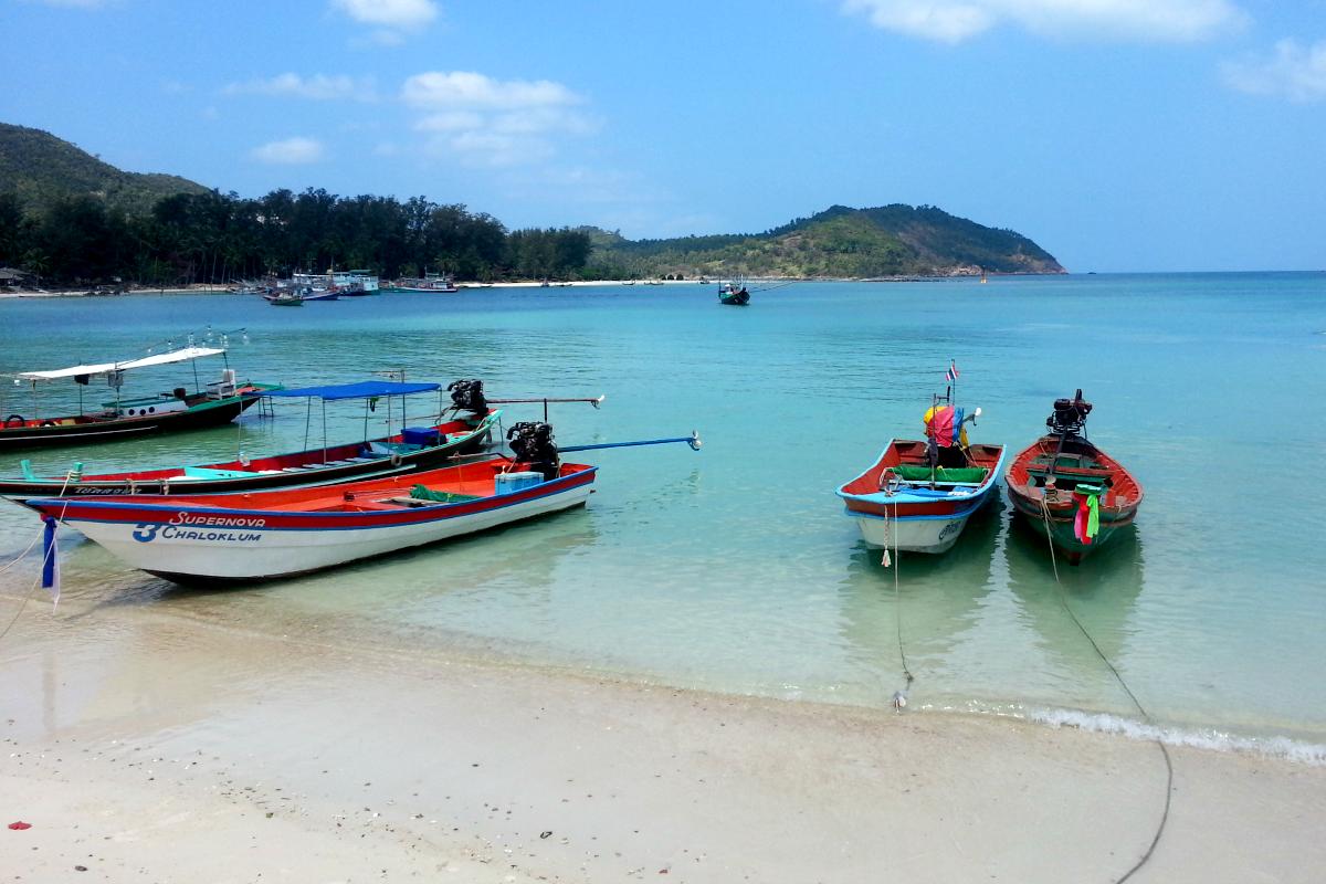 Chaloklum Koh Phangan Strand