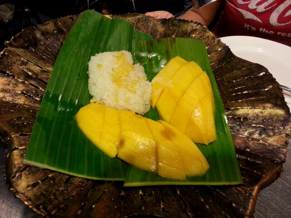 Klebereis mit Mango