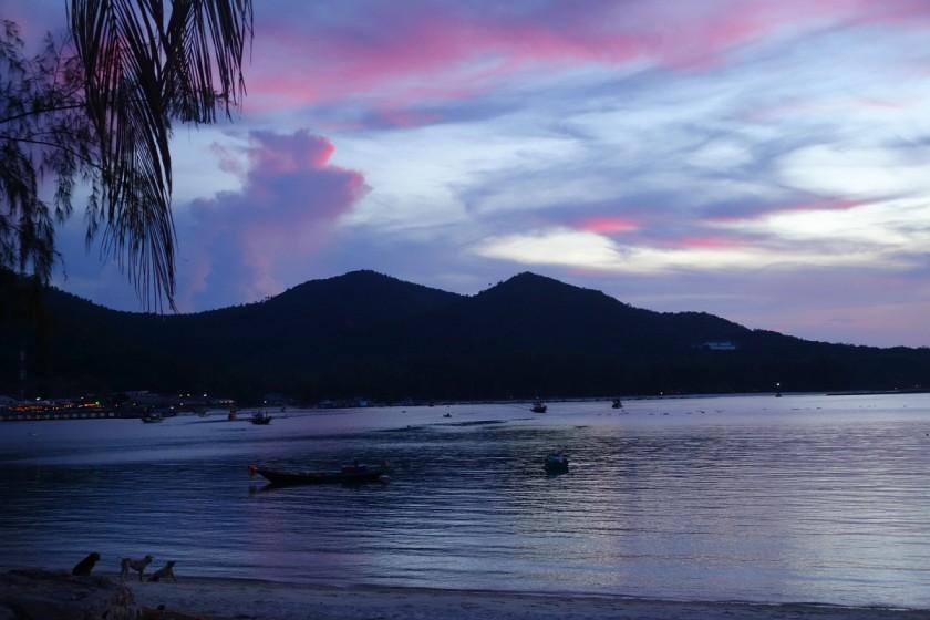 Sonnenuntergang Koh Phangan