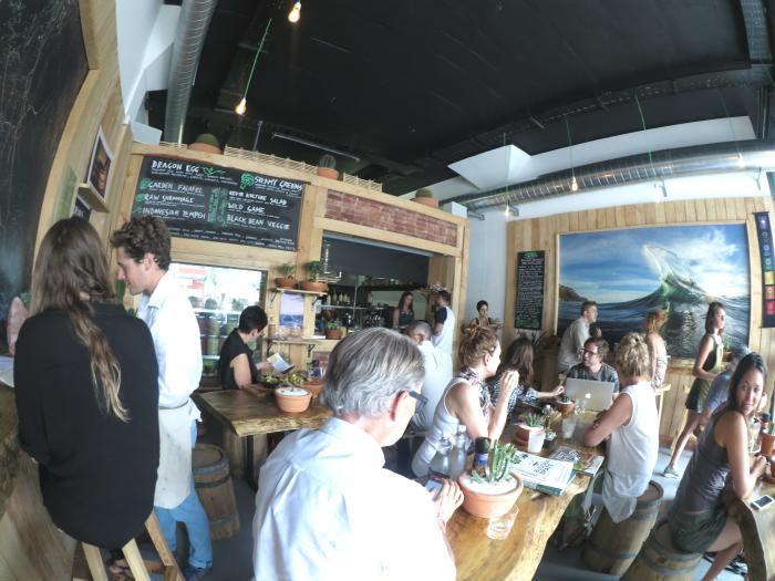 Cafe in Kapstadt