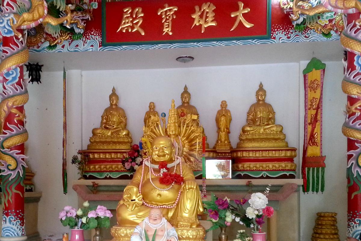 Chinesischer Tempel Koh Phangan