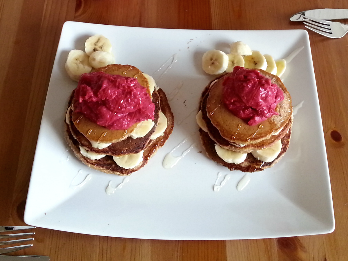 Amaranth Pfannkuchen – Vegan for fit