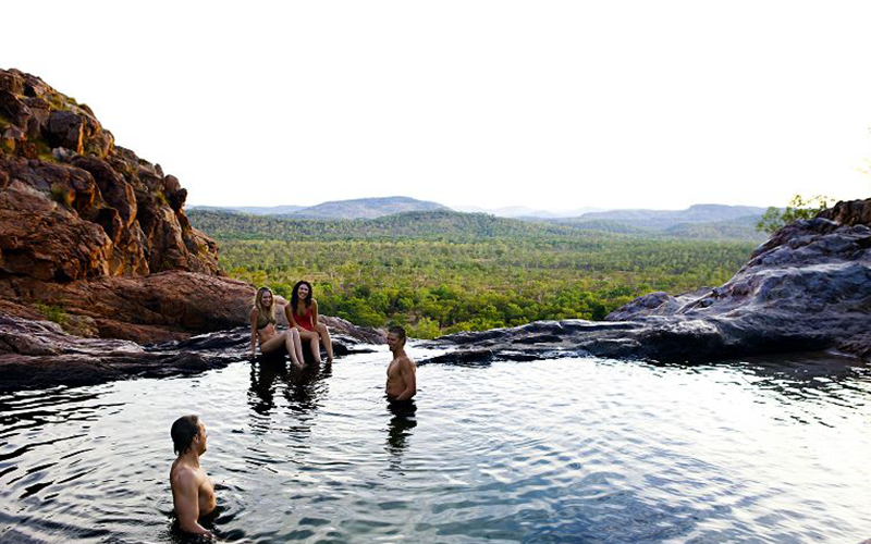 Wasserloch im Outback