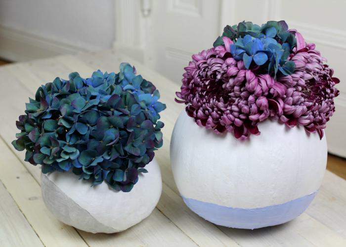 Kürbis Bouquet DIY – Herbstliche Blumen