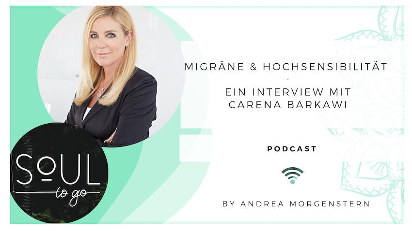Wie Migräne und Hochsensibilität zusammenhängen – Ein Interview mit Carena Barkawi