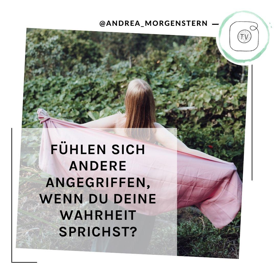 Wahrheit sprechen IGTV Andrea Morgenstern