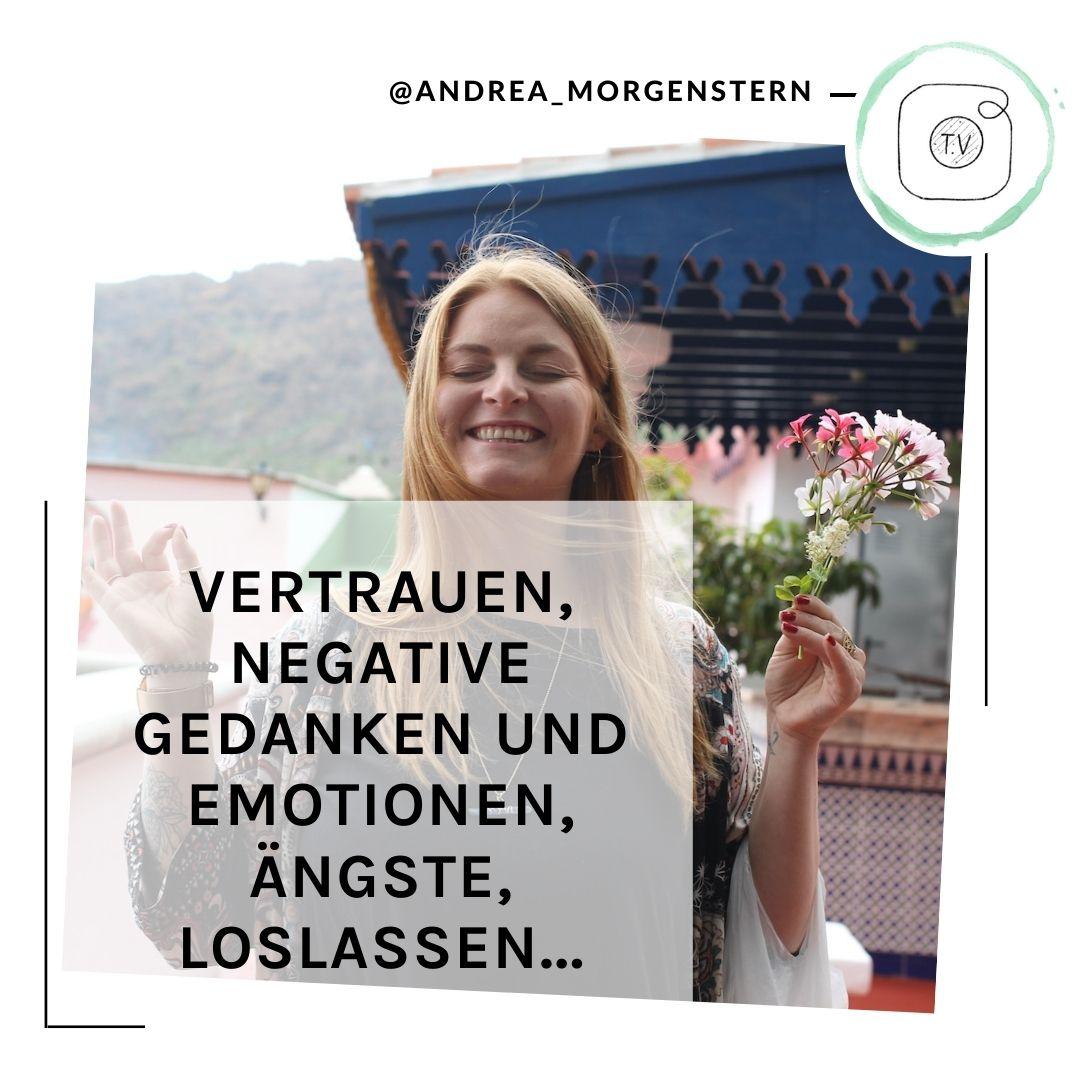 Instagram LIVE Andrea Morgenstern